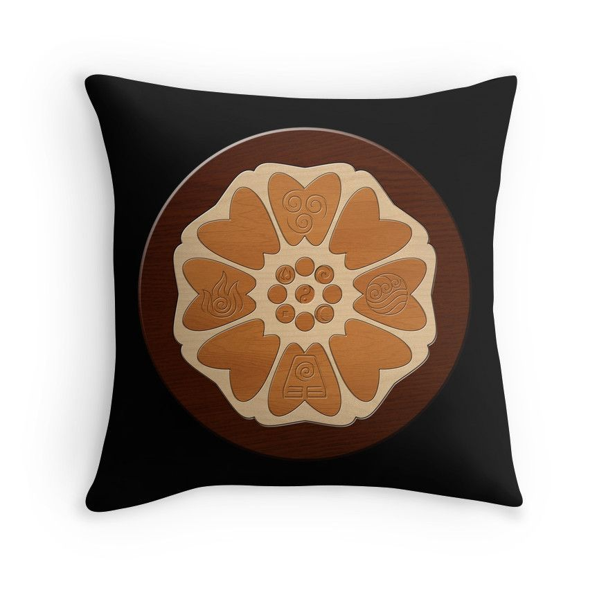 Order Of The White Lotus Throw Pillow By Colossal Avatar Tattoo