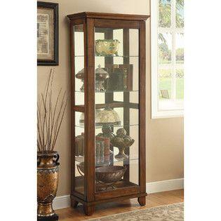 Curio At Sears Curio Cabinets Armario Con Espejo