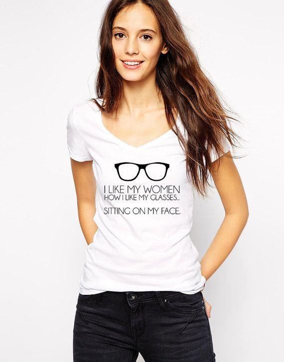 Lesbian Shirt - Gay Pride - Lesbian Vneck - Couples Shirts - Funny Shirts -  Gay Shirt - Lesbian Pride - Hipster Lesbian Shirt - Gay Couple by Umbuh