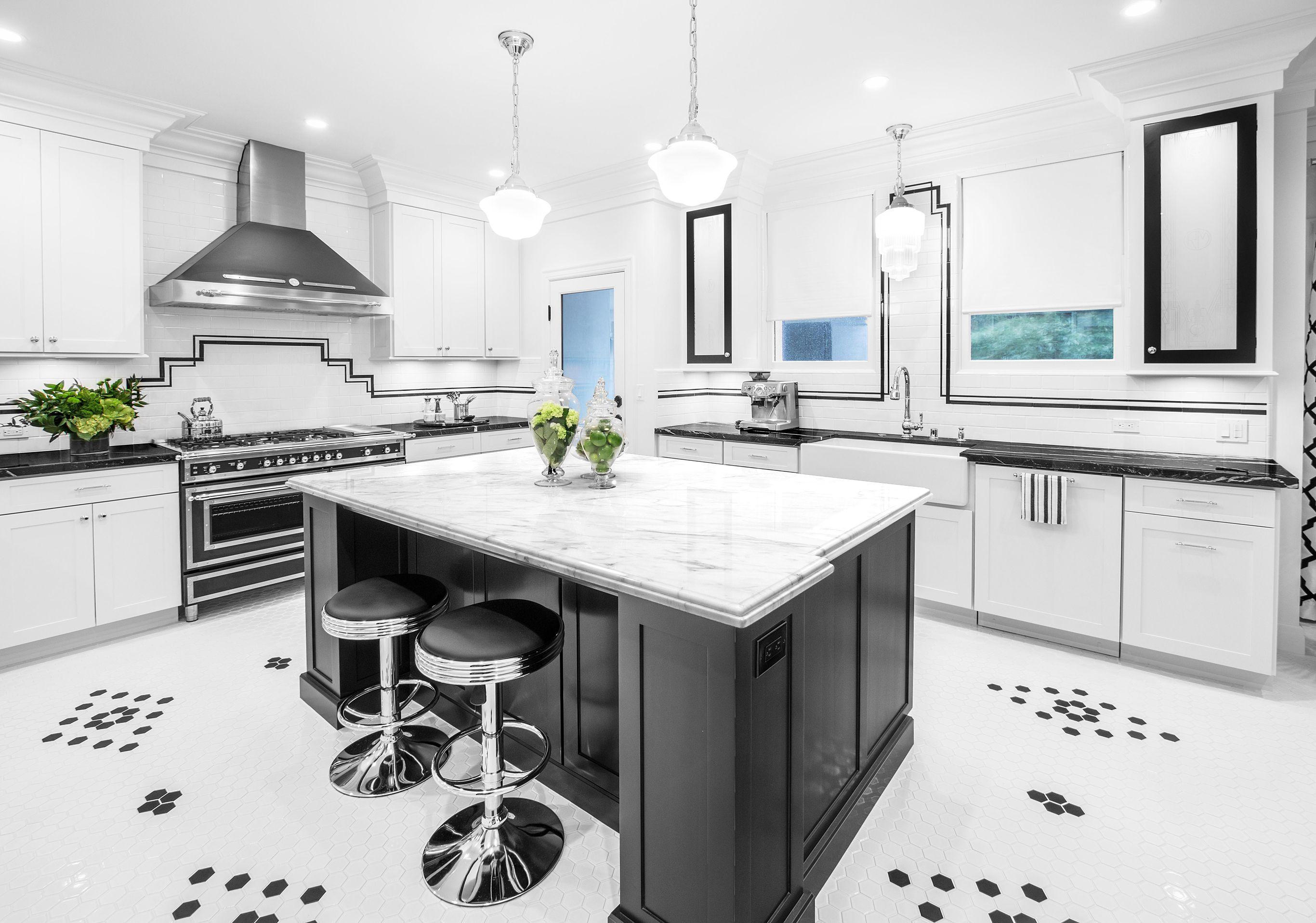 Art Deco Kitchen Cabinets Dewils Custom Cabinetry In 2020 Art Deco Kitchen Art Deco Kitchen Cabinet Kitchen Design Centre