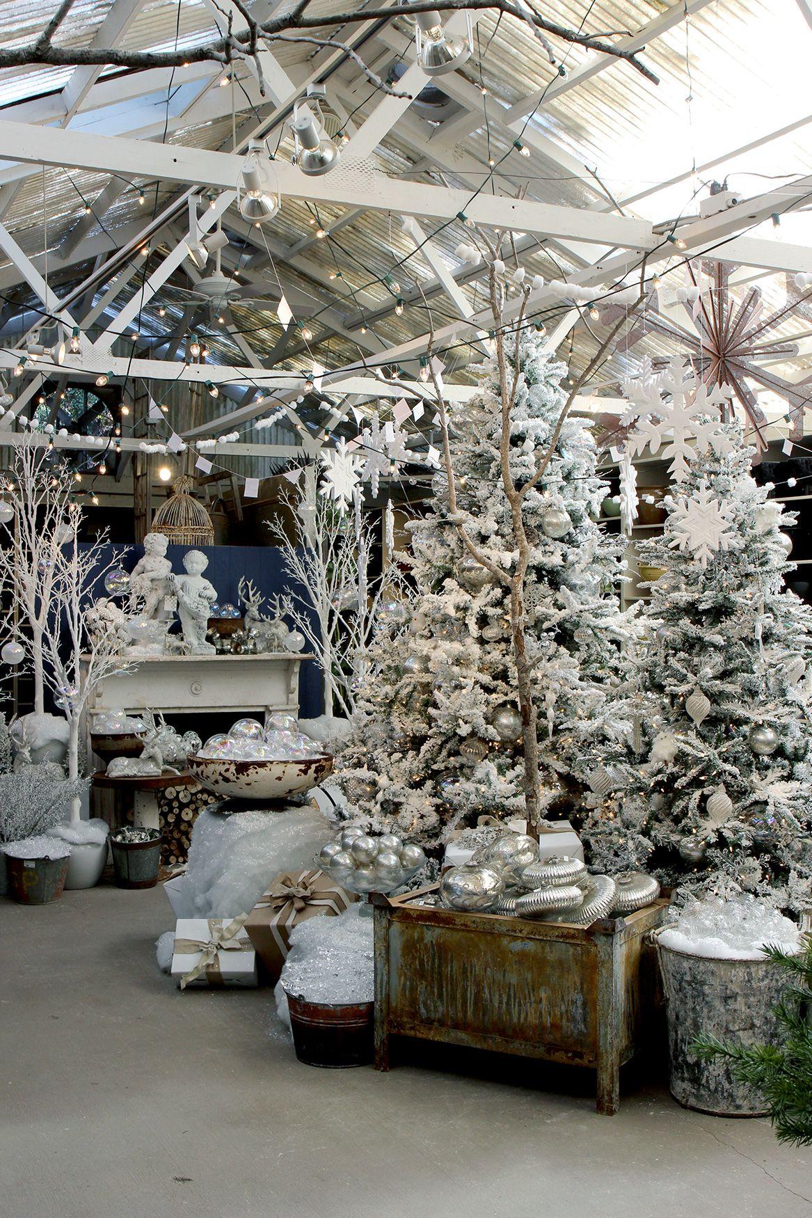winter wonderland holiday decorating christmas shop displays christmas store woodland. Black Bedroom Furniture Sets. Home Design Ideas