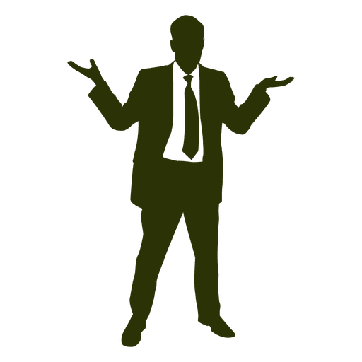 Businessman Happy Silhouette Ad Affiliate Paid Silhouette Happy Businessman Silhouette Office Cartoon Business Man