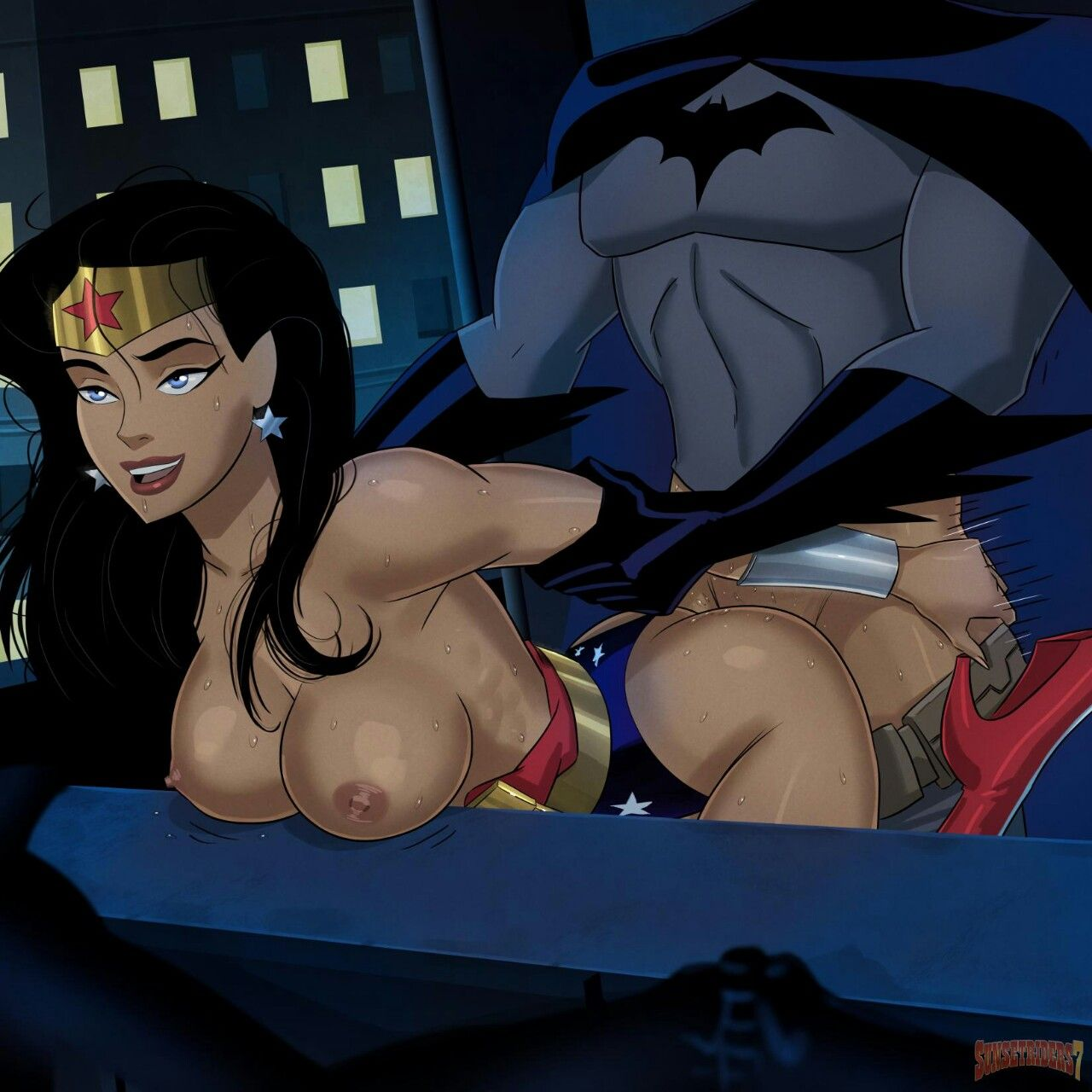 Wonder woman hentai from justice league