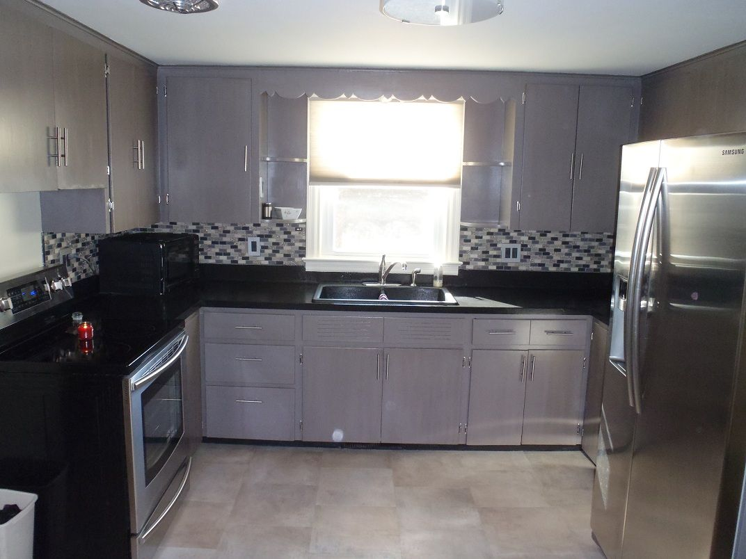 Best Federal Gray Cabinet Transformations Kitchen Facelift 400 x 300