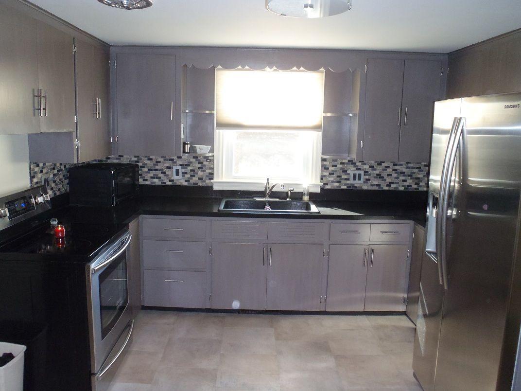 Federal gray kitchen facelift pinterest cabinet