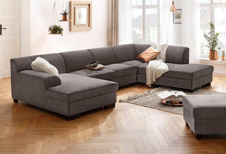 Home Affaire Wohnlandschaft Wanda Wahlweise Mit Bettfunktion In 4