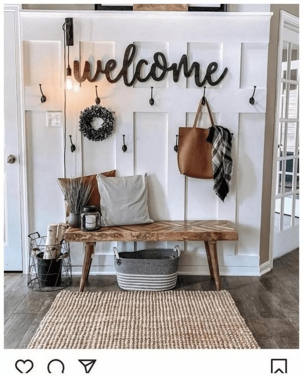 33  Popular Modern Farmhouse Home Decor Ideas #modernfarmhouselivingroom