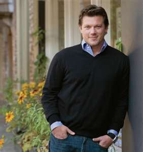 Tyler Florence...the fact that I find him cute kills Erik :)