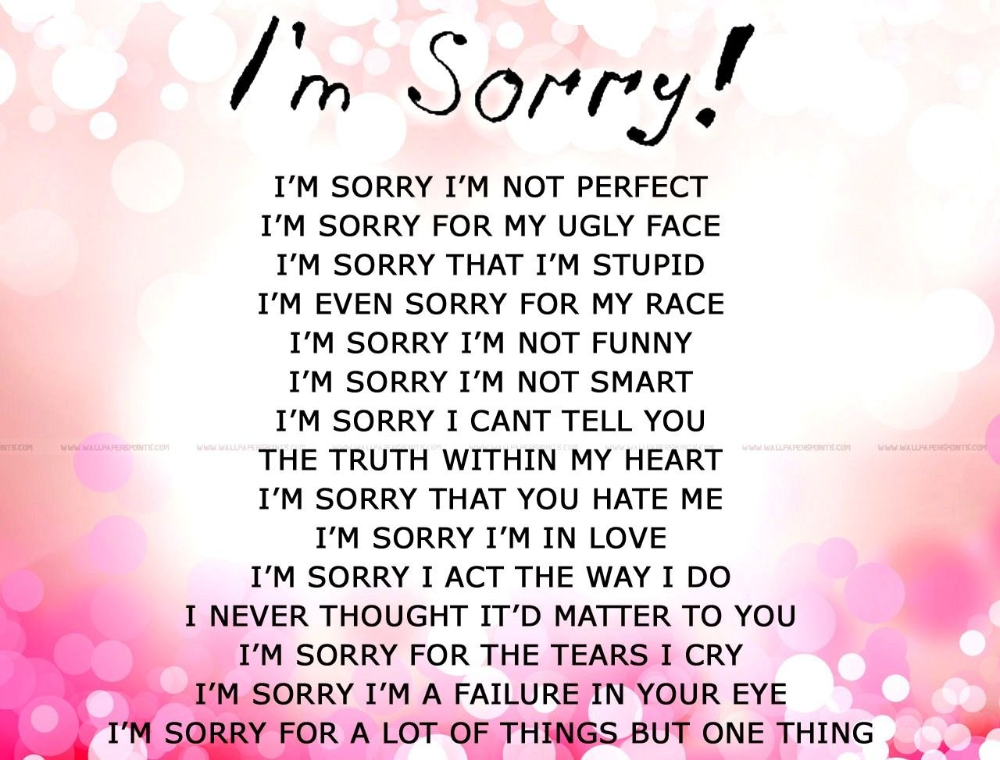 Apology Card Templates Free Printable Word Pdf With Sorry Card Template 10 Professional Templates Ideas Apologizing Quotes Apology Cards Love Quotes For Her