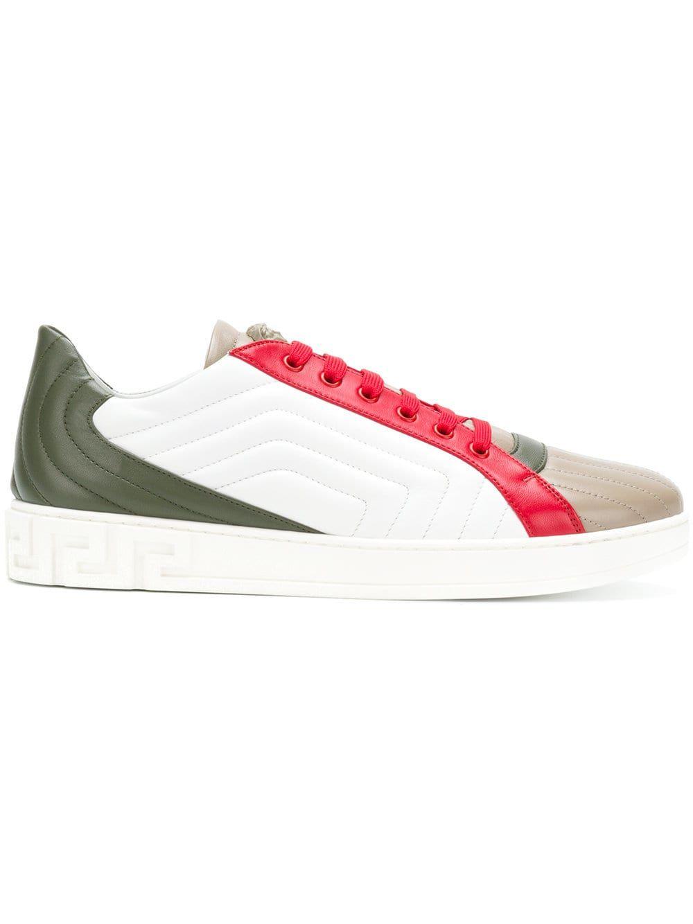 MulticolourMy En Versace Colour Top Block Sneakers Low eHIWDE2b9Y