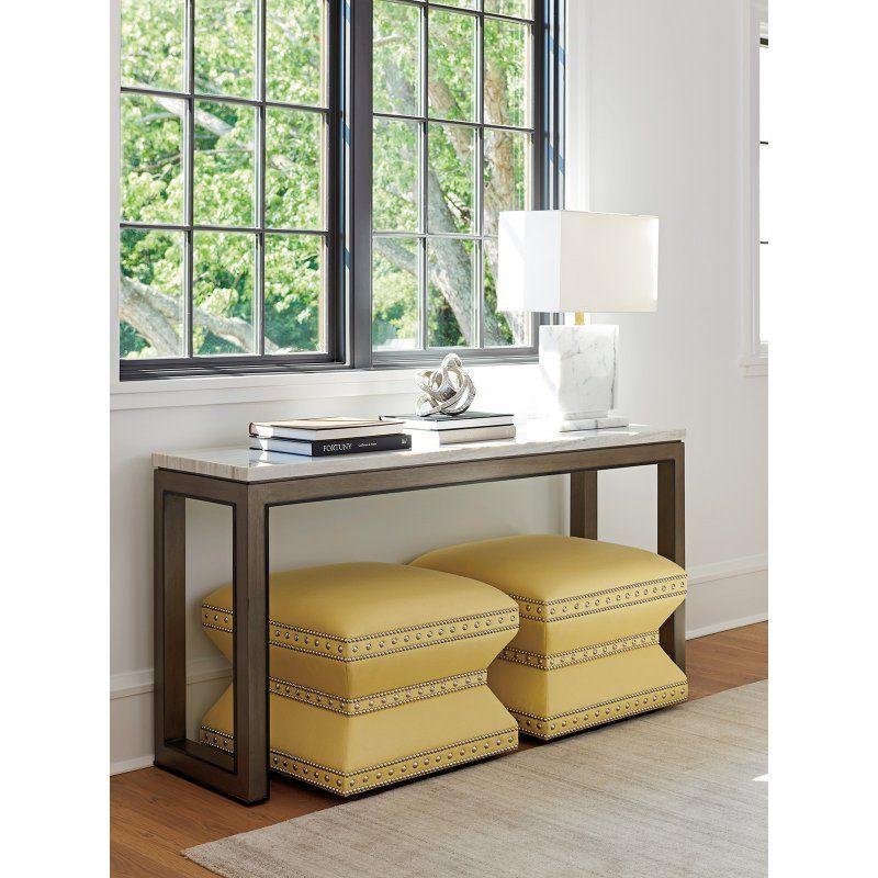 Lexington Home Brands Ariana Vernay Rectangular Console Table   01 0732 966