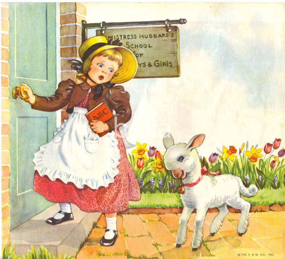 Mary had A Little Lamb Mother Goose Nursery Rhymes ...