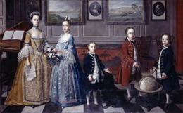"""The Bateson Family"", Strickland Lowry, 1762; Ulster Museum BELUM.U1664"