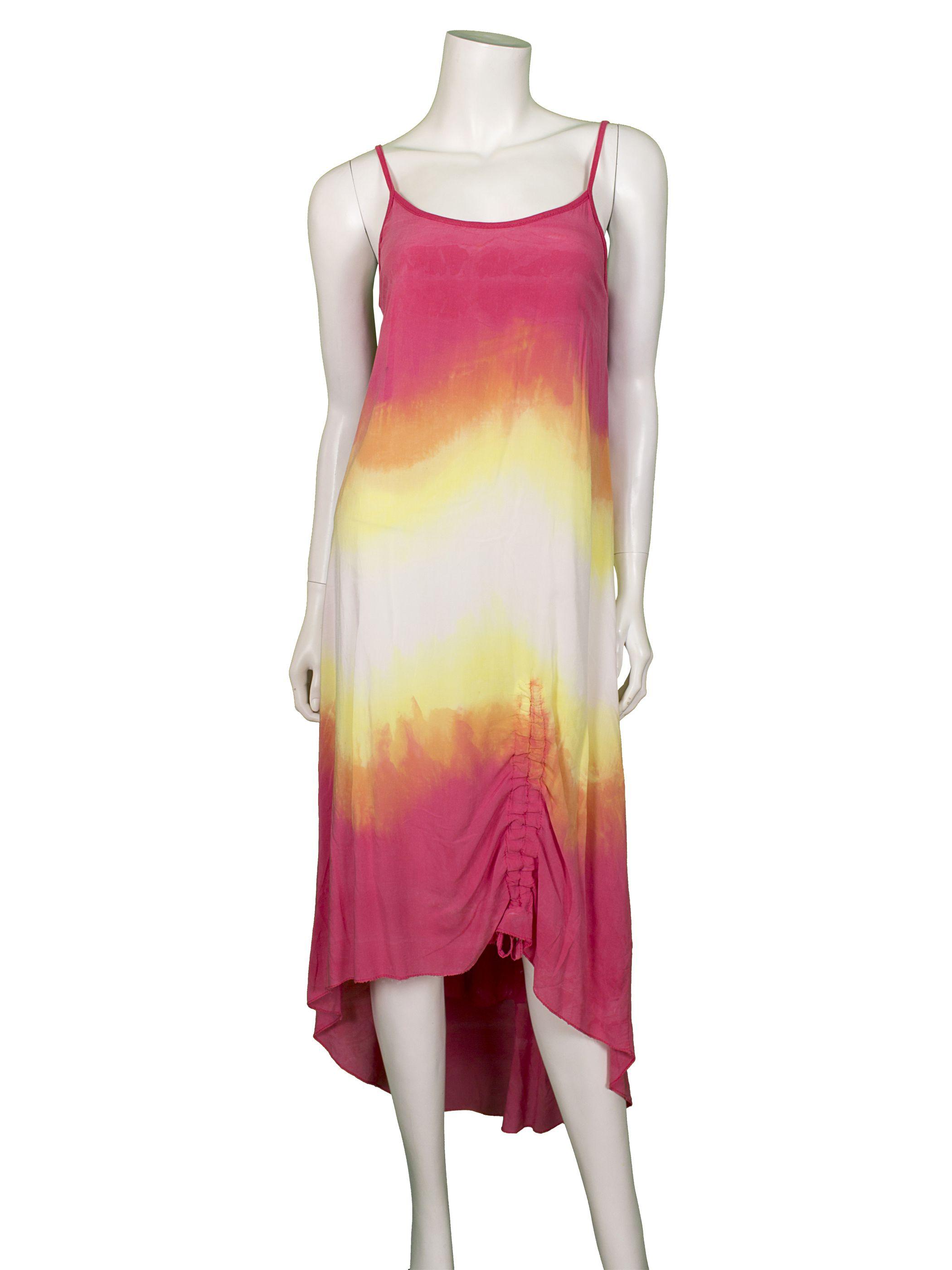 kleid, pink multicolor - online shop meinkleidchen.de