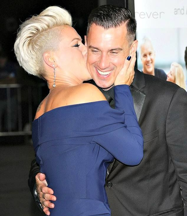carey heart and alecia beth moore pnk in the thanks for