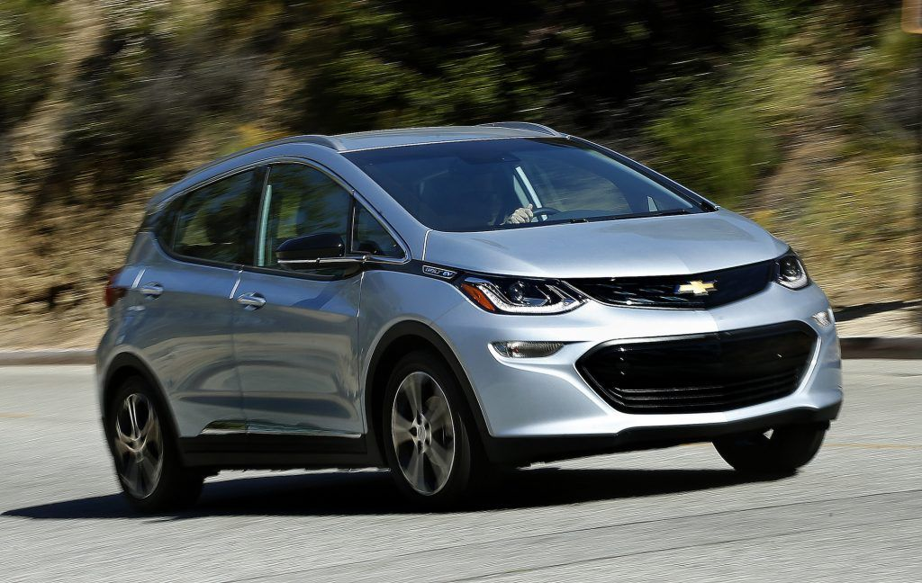 auto review chevy s bolt ev is an all electric all star portland rh pinterest co uk