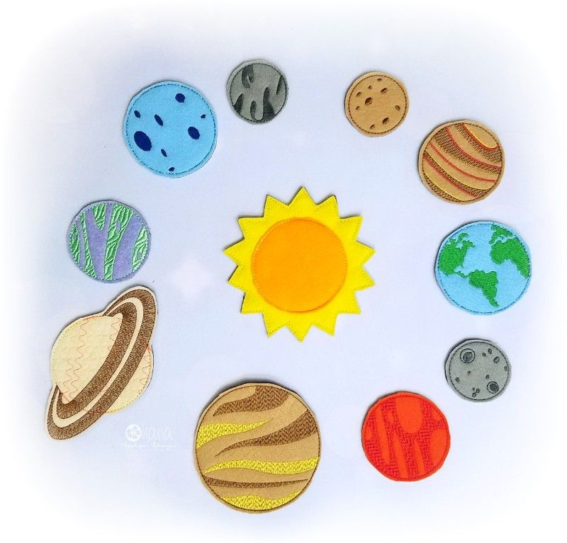 Solar System Ribbon 78 You choose the color Planets Outer space Venus Mars Saturn Planets