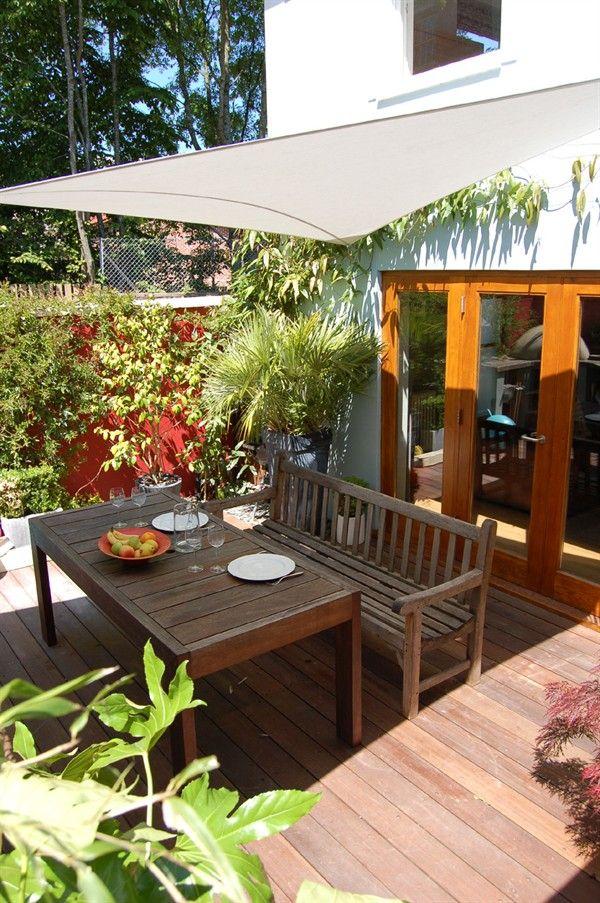 Summer City Garden Canopy Garden Shade, Clifton Inspired spaces - jardines en terrazas