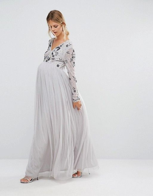Sleeves Maxi with Dresses Long Martentiy