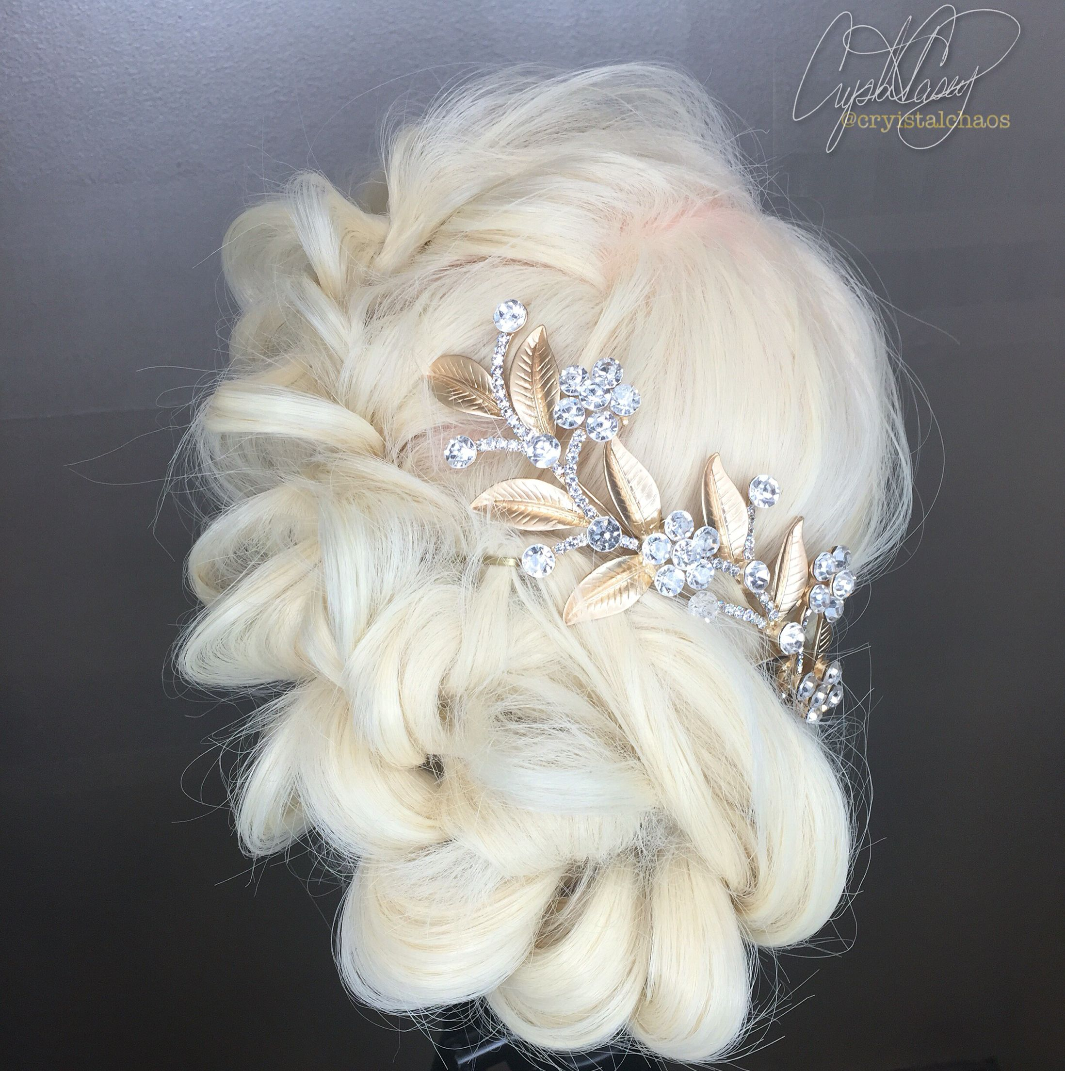 Braided Wedding Hair Instagram @CryistalChaos #virginiabeach #prom ...