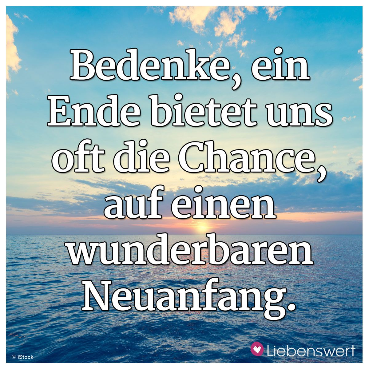 Spruch Neuanfang