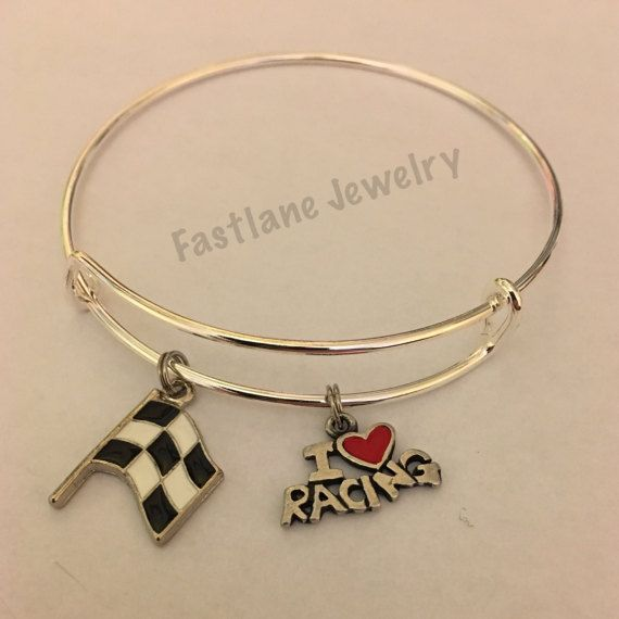 Racing Adjule Bangle Bracelet