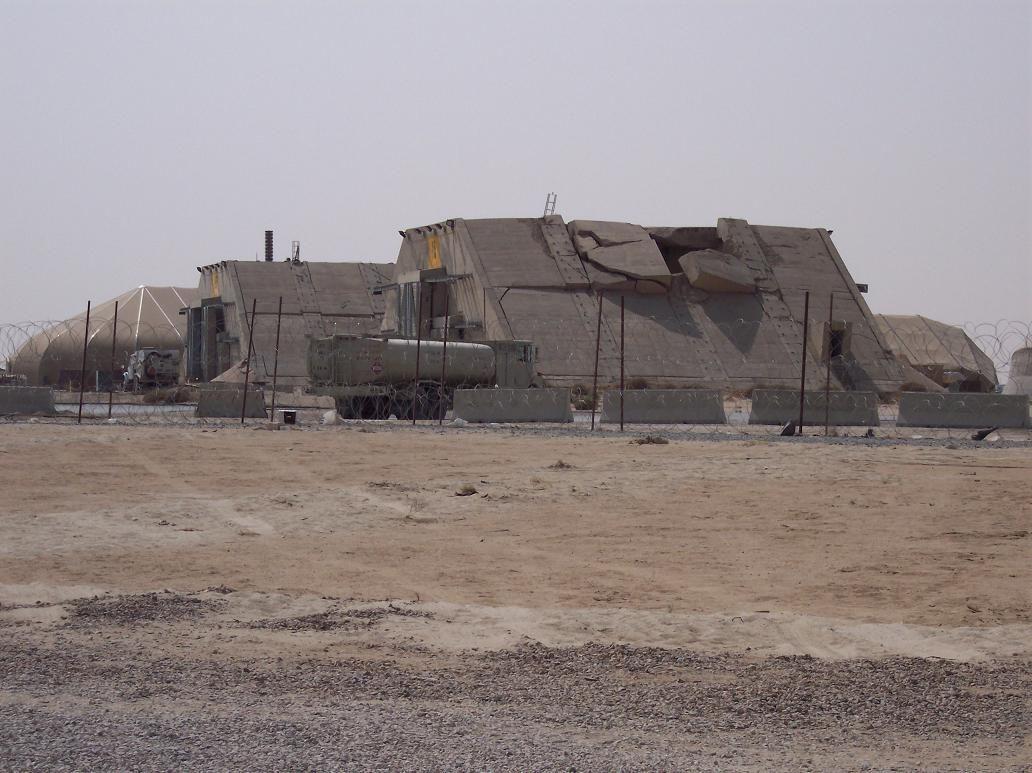 My home during Operation Enduring Freedom. Ali Al Salem