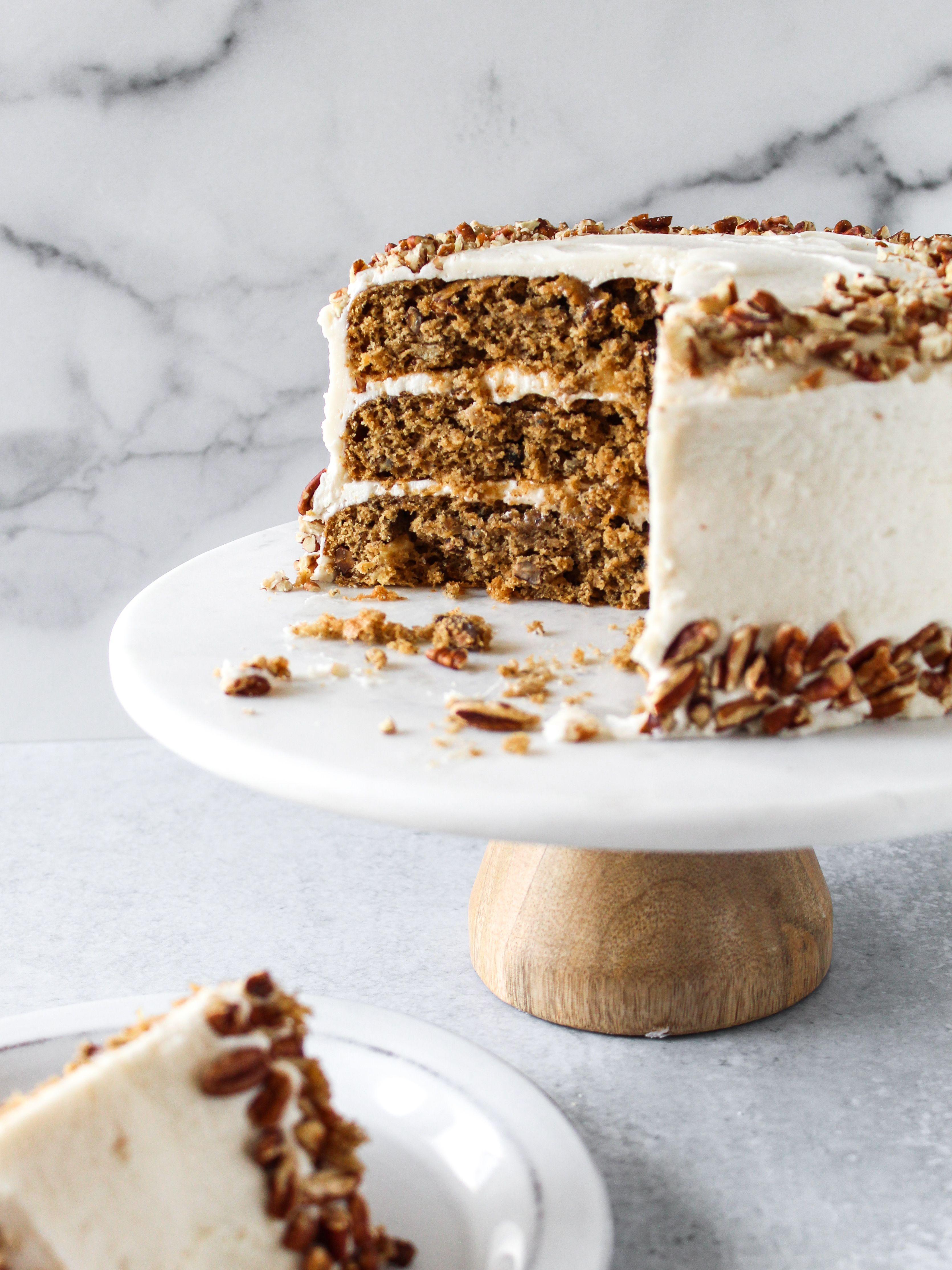 Hummingbird Cake With Vegan Cream Cheese Frosting Vegan Cream Cheese Frosting Hummingbird Cake Vegan Cream Cheese
