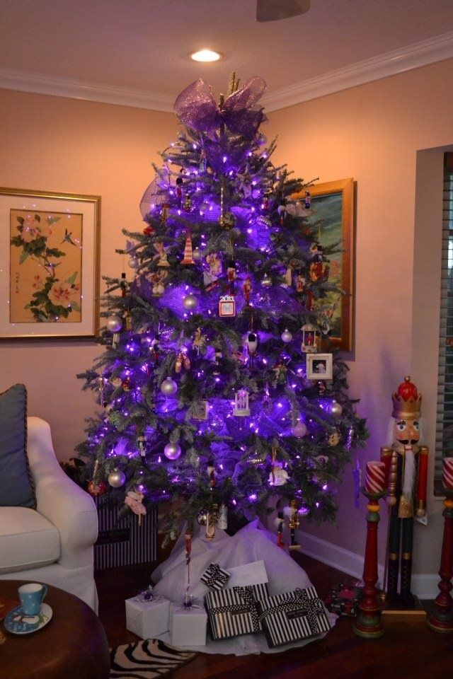 Sugar Plum Purple Christmas Tree Decor Purple Christmas Tree Purple Christmas Christmas Table Decorations