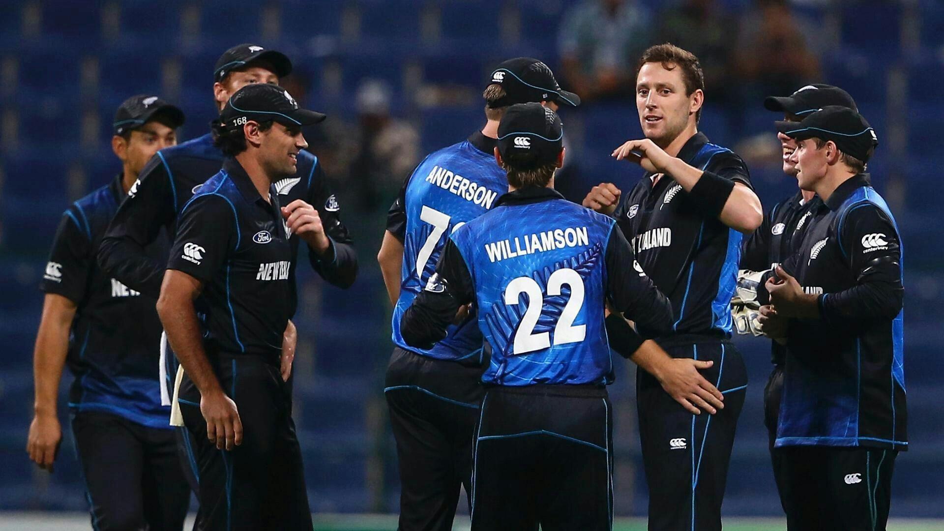 New Zealand Cricket Team Zoom Background