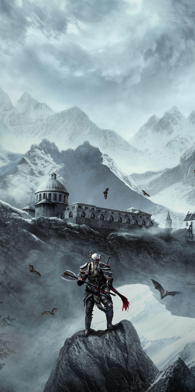 1440x2880 The Elder Scrolls Online Warrior Online Game Wallpaper Elder Scrolls Online Skyrim Wallpaper Elder Scrolls