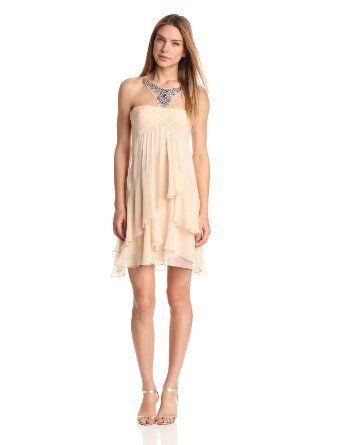 Amazon.com: BCBGMAXAZRIA Womens Joyce Beaded Coctail Dress: Clothing