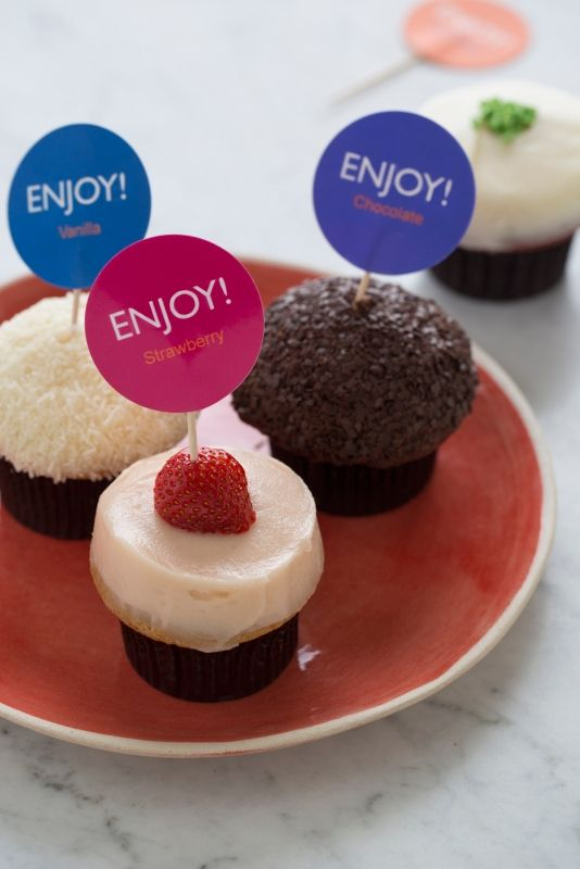 Make These Cute Cupcake Toppers Yourself Pick Your Own Free
