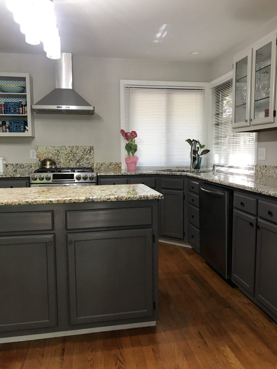 Kitchen Cabinets Painted Without Sanding And Priming Painting Kitchen Cabinets Diy Kitchen Cabinets Painting Kitchen Cabinets