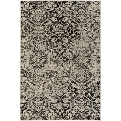Surya Everton Damask Medallions 1 10 X 2 11 Accent Rug In Light Grey Area Rugs Rugs Rectangular Rugs