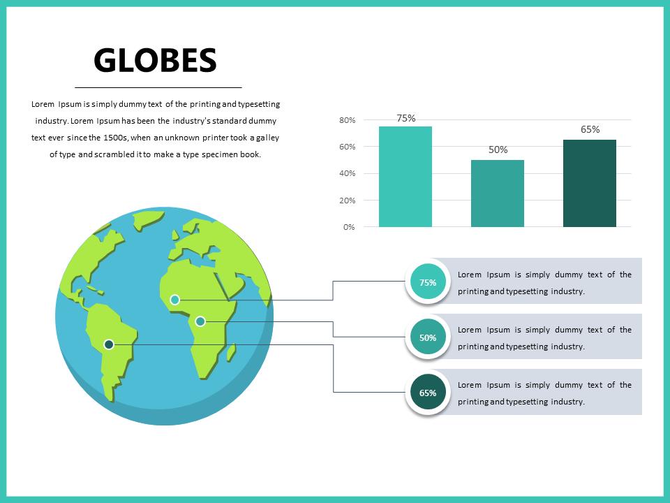 Globe Powerpoint Template Slidedesign Presentationdesign Map