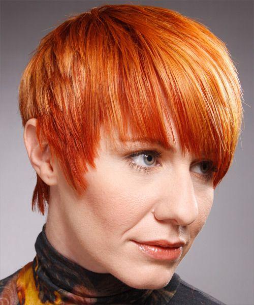short straight hairstyle  alternative hair short