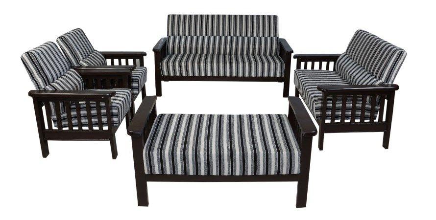 Buy Bantia Cerritos Sofa Set1 Online India At Best Price With Images Wooden Sofa Outdoor Furniture Sets Sofa
