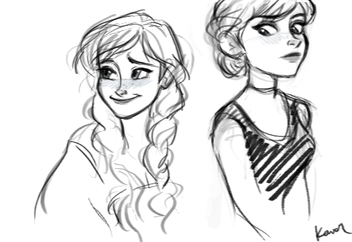 how to draw a princess face