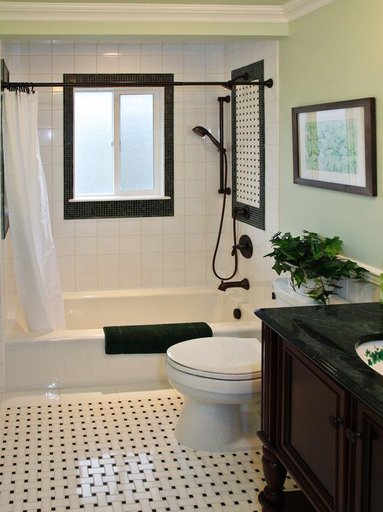 Gentil Attractive Black And White Bathroom Ideas Also Elegant Dark Brown Vanity  And Black Marble Countertop