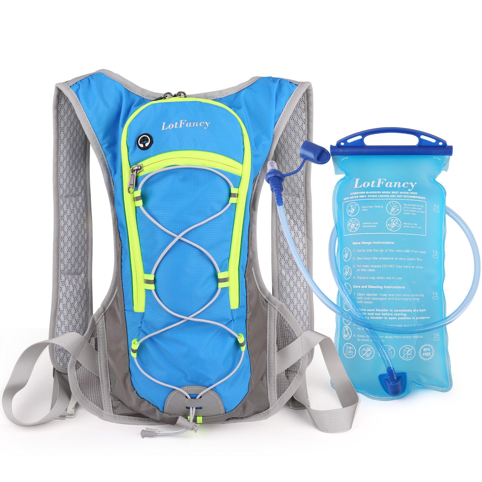 5X 2L Hydration Packs Water Bladder Bag Backpack Hiking Camping Reservoir Sports
