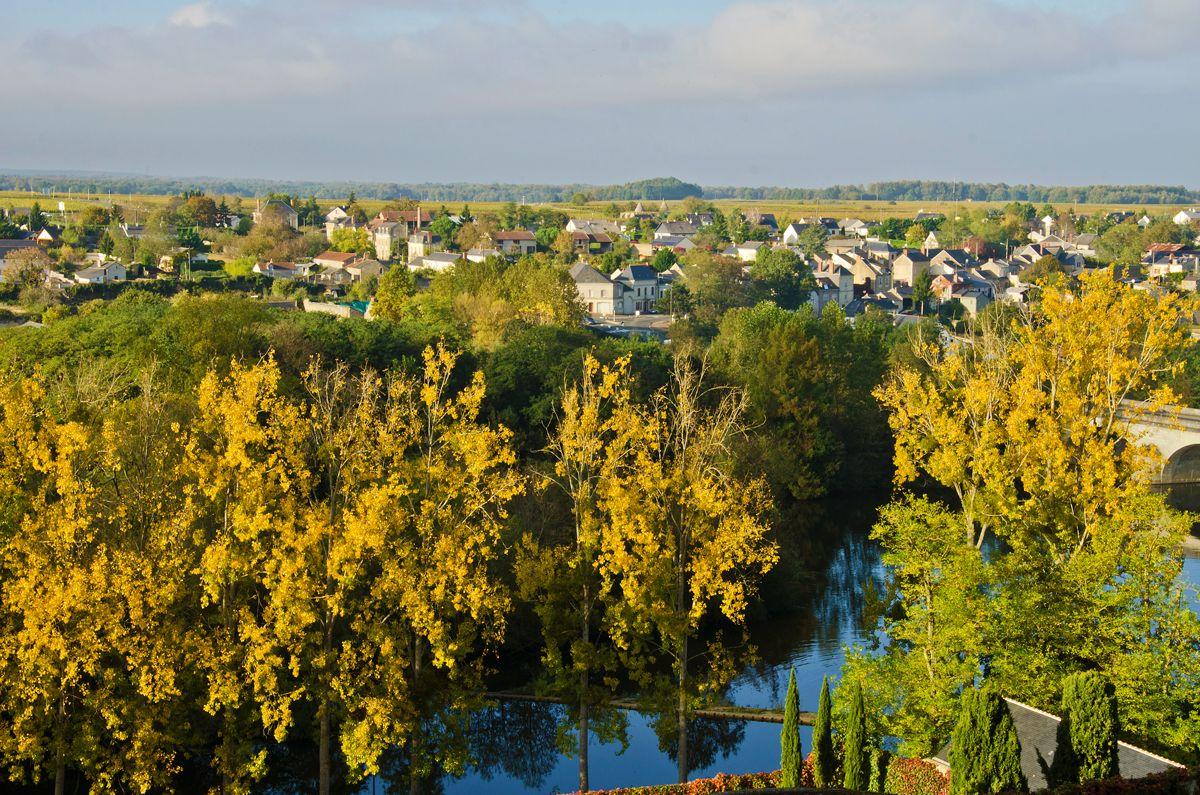 #france, #loirevalley, #fall, #montreuil_bellay, Montreuil Bellay într-o duminică de octombrie