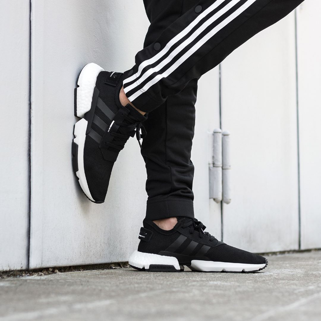 Adidas POD-S3.1 Black / White | Adidas, Latest sneakers, Black