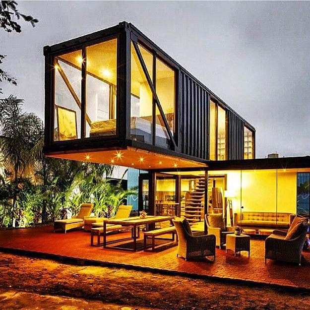 Elegant Modern Container Home | Cool Container Homes That Will Inspire Your  Own