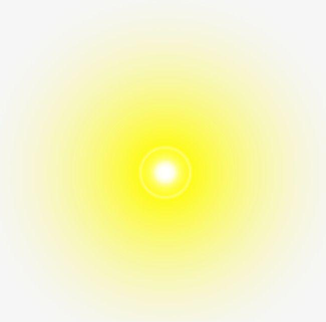 Yellow Light Radiation Effect Brick Wall Background Light Light Effect