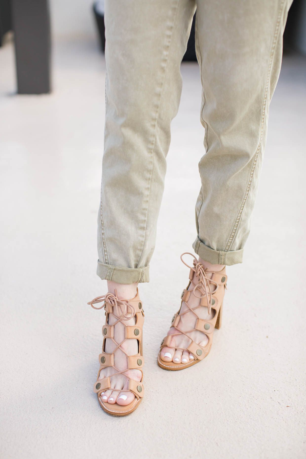 6bc878eb Anthropologie Green Relaxed Chino Pants | Best of Pinterest: Fashion ...