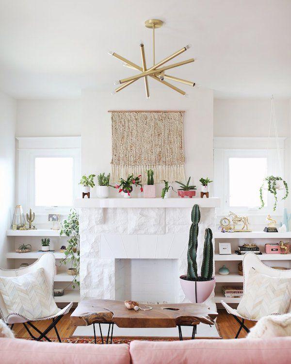 wohnzimmer ideen wandgestaltung Wohnzimmer u2013 Einrichtungsideen - wohnzimmer ideen pink