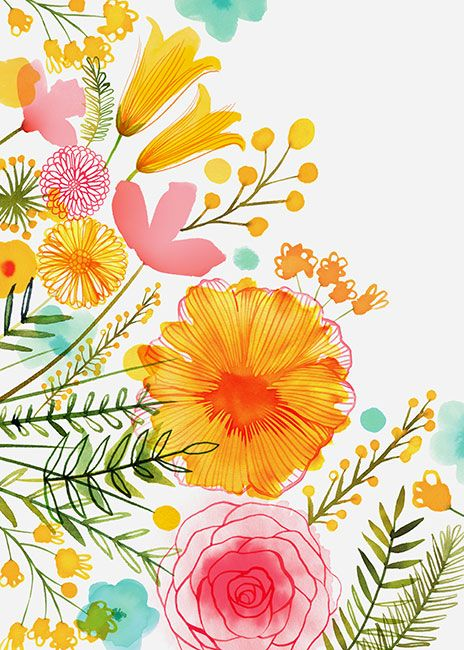 Pastel Florals C Margaret Berg Www Margaretbergart Com Art