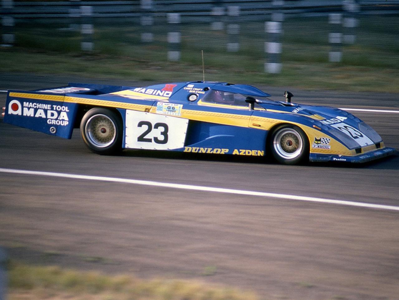 Chris Craft Bob Evans Dome Zero Rl81 Ford Dome Co Ltd Xlix Grand Prix D Endurance Les 24 Heures Du Mans 1981 Worl Car Guys Sport Cars Vintage Racing