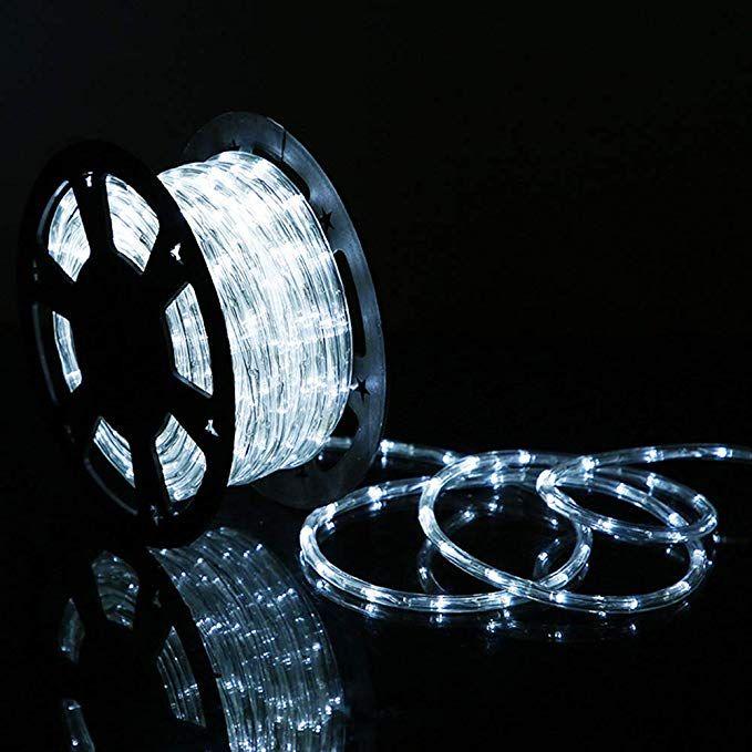 low priced 5d80b 5bdfc HuiZhen 100 Feet 720 LED Rope Light,2-Wire Waterproof Low ...